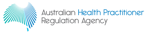 Australian Health Practitioner Regulation Agency Logo